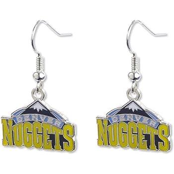Dallas Mavericks NBA Team Logo Dangler Earrings