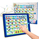 BEAURE Learning Tablet with ABC/Words/Numbers/Color/Games/Music, Interactive Educational...