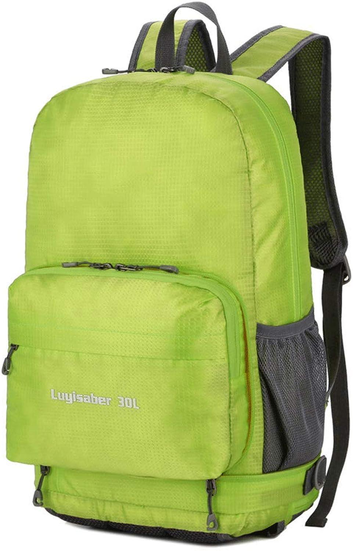 Zusammenklappbarer Taschenrucksack für Männer und Frauen - ultraleichter, wasserdichter, tragbarer Mehrzweckrucksack mit doppeltem Verwendungszweck Reiserucksack-Outdoor-Taschen-Tasche für Bergste B07PS24WQJ  Qualität und Verbraucher an ers