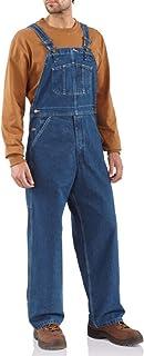 Sweet-Candy Hombres Jeans Multi-Bolsillos Demin Monos Flaco Pantalones Casual Tiras Mono Jeans Moda 2020 Otoño Ropa para H...