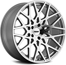 TSW VALE Silver Wheel with Painted Finish (18 x 8.5 inches /5 x 108 mm, 43 mm Offset)