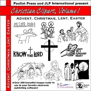 Christian Clipart: Advent, Christmas, Lent, Easter