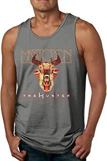 Men's Sport Gym Tank Top Mastodon The Hunter Sleeveless T-Shirts
