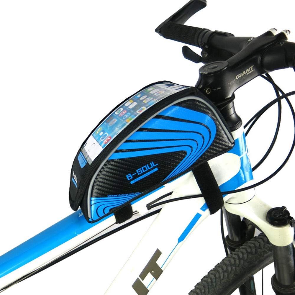 Bolsa para cuadro de bicicleta Estuche de teléfono para bicicleta al aire libre de moda Marco