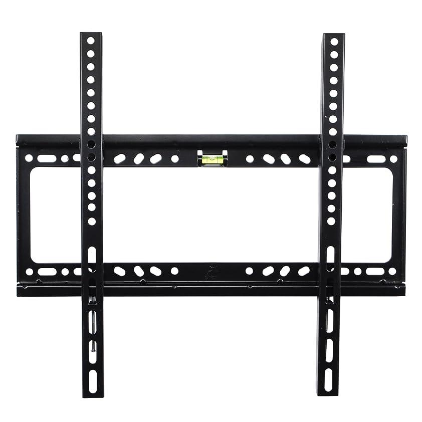 ライバル足の慈悲でテレビ壁掛け金具 32V-55V型液晶テレビ対応 薄型 耐荷重50kg VESA 規格 固定式