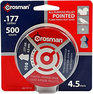 Crosman Pointed Pellets 500 ct 7-P577