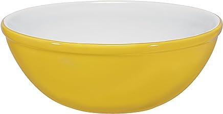 Bowl Mondoceram Amarelo 15 x 15 x 5,5 cm