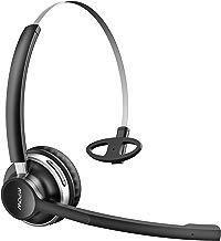 Auriculares Bluetooth con Micrófono Dual, Mpow-232A Auriculares Inalámbricos con Cancelación de Ruido ,para Skype/VoIP/PC/Iphone/Android/Oficina/Chofer, Duración de 13 Horas