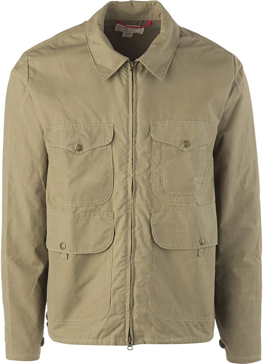 Filson Bell Bomber Jacket - Staywax Cover Cloth