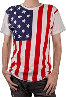 Men's USA Patriotic American Flag T-Shirt