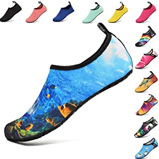 XMiniLife Water Shoes Quick-Dry Barefoot Aqua Socks for Beach Swim Surf Swimming Yoga Exercise