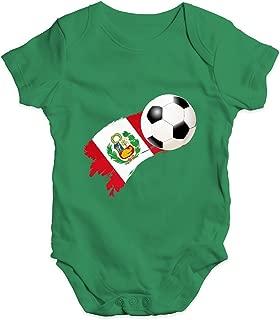 Twisted Envy Baby Leggings Belgium Football Soccer Flag Paint Splat