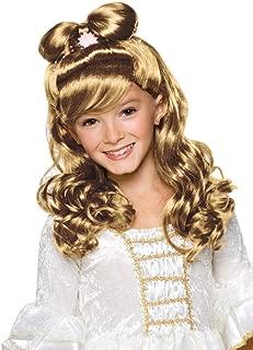 Rubie's Elegant Princess Child's Costume Wig, Blonde