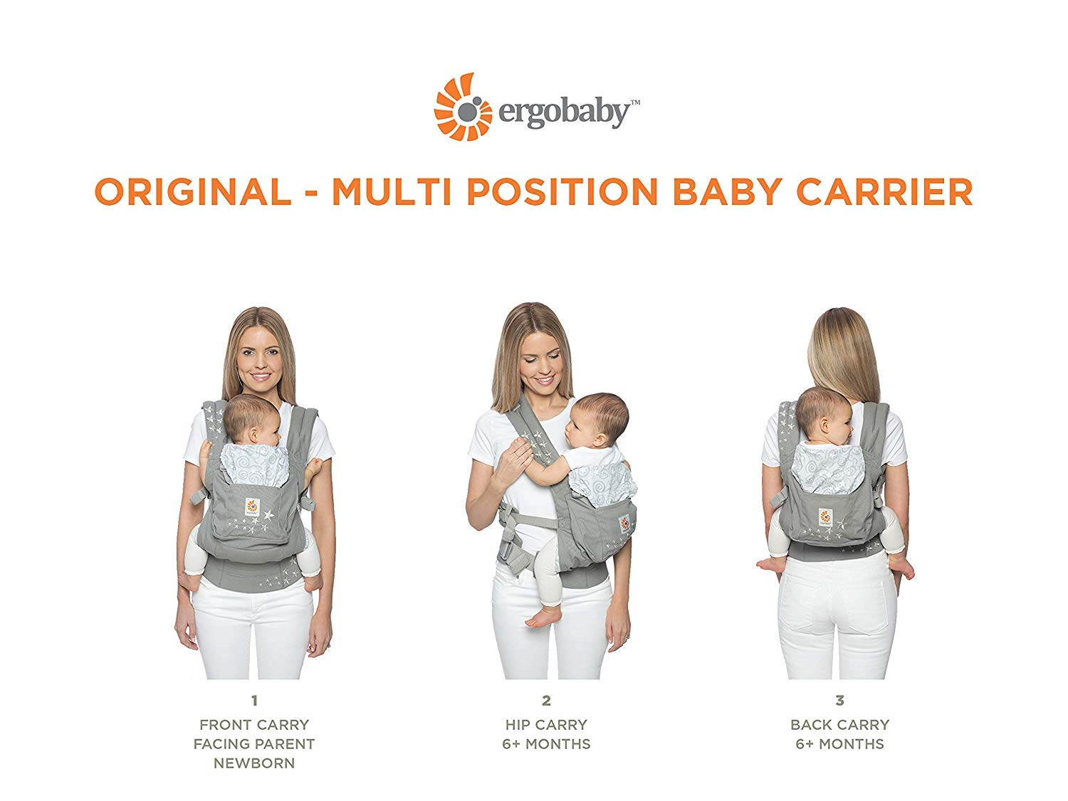 Ergobaby Original Collection Baby Carrier, Sea Skipper (Discontinued by Manufacturer)