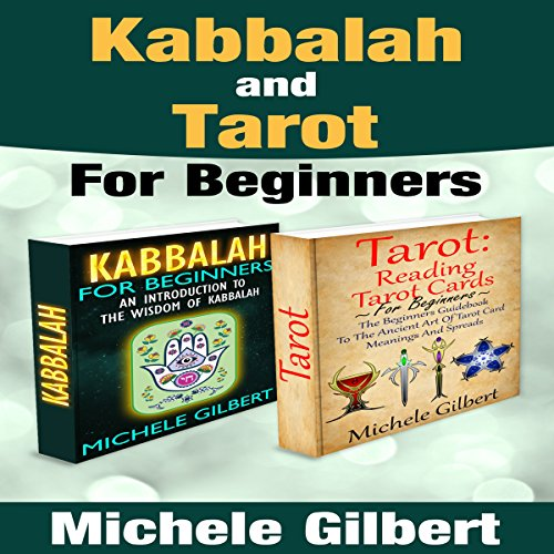 Kabbalah and Tarot for Beginners Box Set audiobook cover art