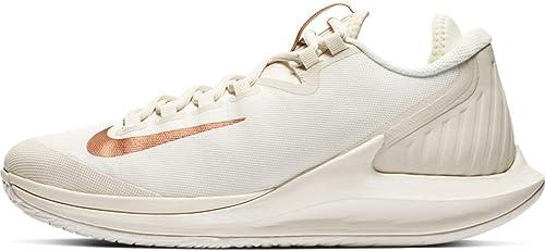 Nike Wohommes Court Air Zoom Zero Tennis chaussures (7, gris Rose)
