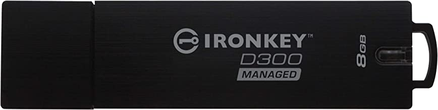 Kingston IronKey 8GB D300SM USB 3.1 Flash Drive - 8 GB - USB 3.1-256-bit AES - TAA Compliant