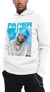 Komlyt French Montana Casual Men's Hoodie Sweatshirt White