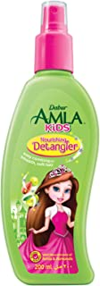 Dabur Amla Kids; Easy combing for smooth, soft hair ; Enriched with Amla,Olive, Almond; Natural oils, Vitmain E; 200 ML