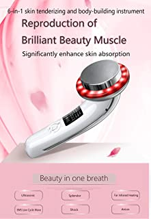 YAMEIJIA Minceur Massager LED ultrasons Galvanic Photon EMS physiotherapie Beaute Minceur Soins Peau Machine blanchiment Anti-age