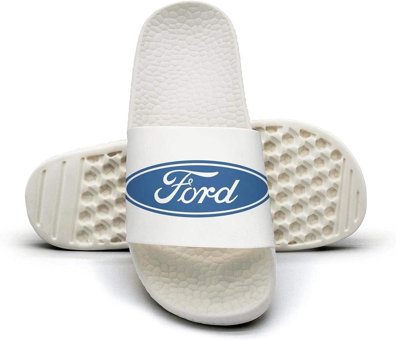 EIGKASL Printed Non-Slip Slippers Slides flip Flop Sandals Ford-Logo-Symbol-Summer Soft for Womens