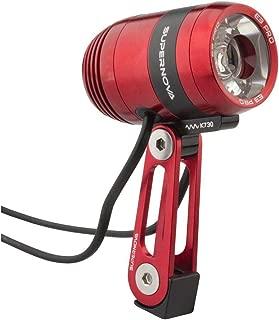 Supernova E3 Pro 2 Dynamo Head Light: Red, Multimount