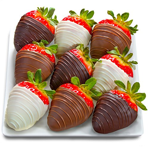 9 Berry Bites Chocolate Covered Strawberries (Fun Size)