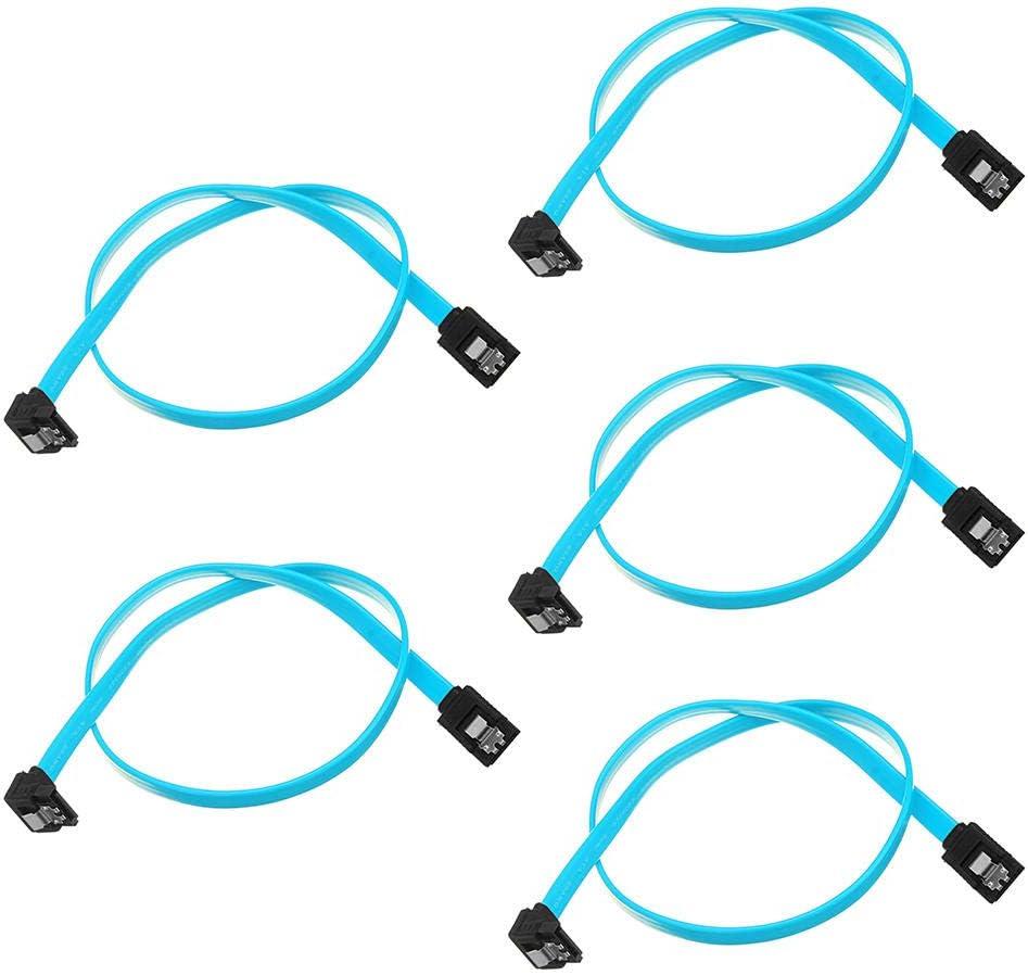 KASILU EJG0114 25 Ranking TOP4 x 18 Tucson Mall Inch SATA Prope 3.0 6GB Cable s SATA3 III