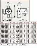 Airmec Circolatore speroni SCR 25//60-130 prevalenza 6 mt 3 livelli di velocit/à robusta e silenziosa