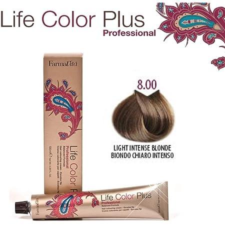 Farmavita Life Color Plus Tinte Capilar 8.0-90 ml: Amazon.es ...