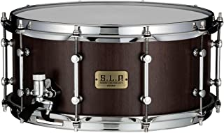 Tama S.L.P. G-Walnut Snare Drum - 6.5 Inches X 14 Inches