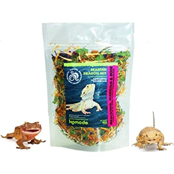 SIPW Bearded Dragon Natural Treat Topper Mix Insects Flowers, Leaves Marigold & Rose