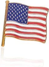 President Donald J. Trump American Flag Lapel Pin - Limited Edition 24K Gold Lapel Pin