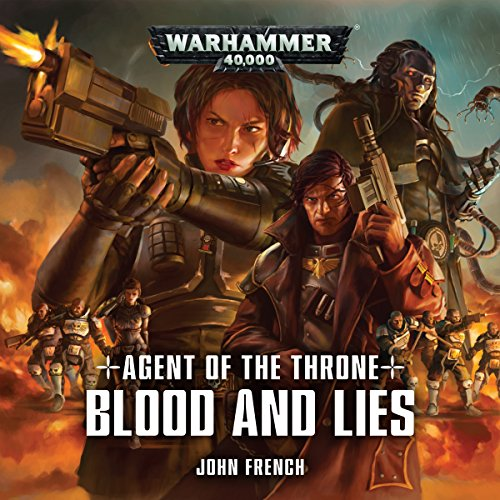 Blood and Lies audiobook cover art