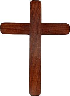 Hashcart Handmade Jesus Christ Wall Hanging Cross, Chapel Decoration (15 Inch)