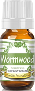 Pure Gold Wormwood Essential Oil, 100% Natural & Undiluted, 10ml