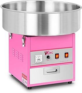 Royal Catering Machine à Barbe à Papa Professionnelle RCZK-1200-W (diamètre de la cuve 52 cm, 1.200W, rendement horaire 1 ...