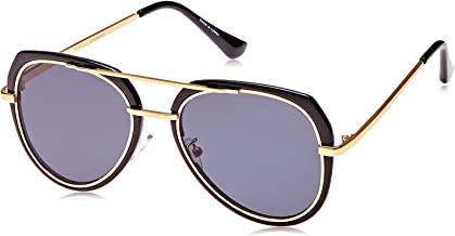 TFL Aviator Sunglasses for Women - Purple, OF86162-BlackGolden