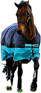 amiGO Mio Turnout Sheet Lite Black/Turquoise/Black 69