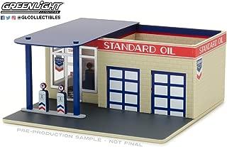 Greenlight NEW DIECAST TOYS CAR 1:64 MECHANIC'S CORNER 3 - VINTAGE GAS STATION - STANDARD OIL 57032