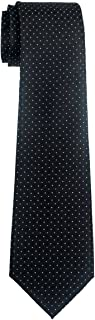 Retreez Check Textured Woven Boy's Tie - 8-10 years - Various Colors