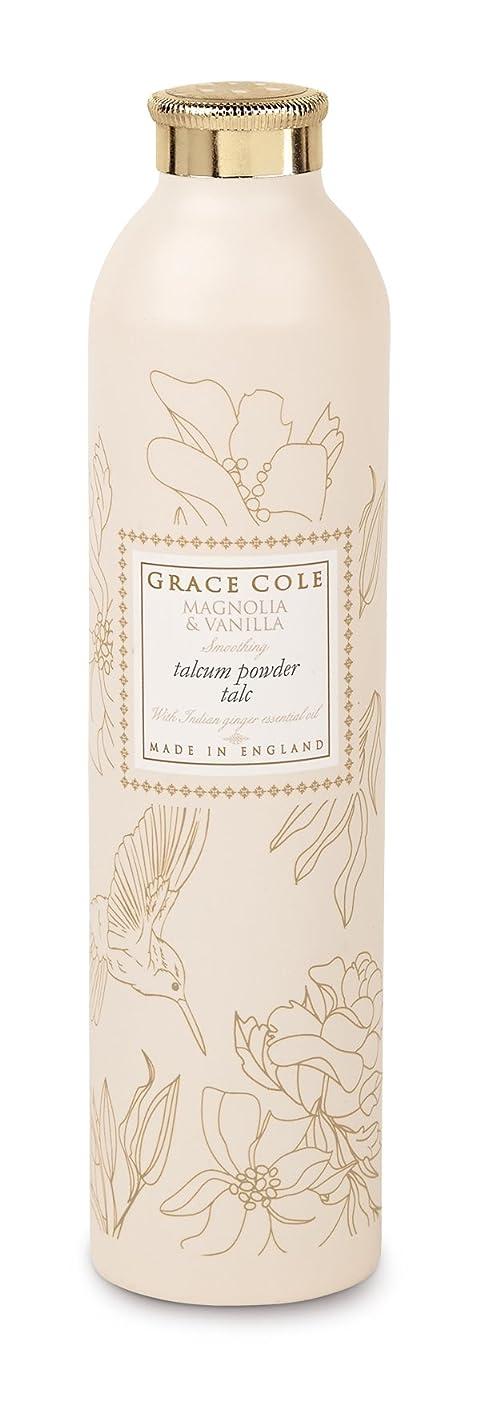 冗談で喉が渇いたラッドヤードキップリングGrace Cole Floral Collection タルカムパウダー マグノリア&バニラ 200g