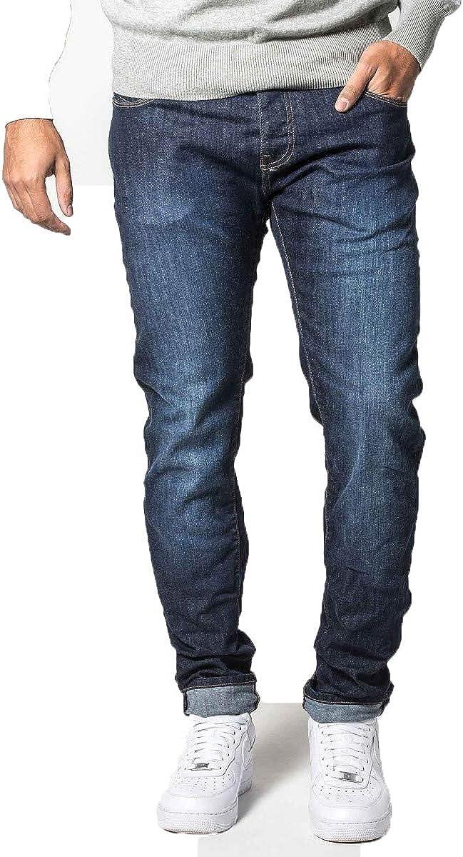883 Police Fresno unisex Mall Cassady Motello 369 Jeans Dark Regular Washed Fit