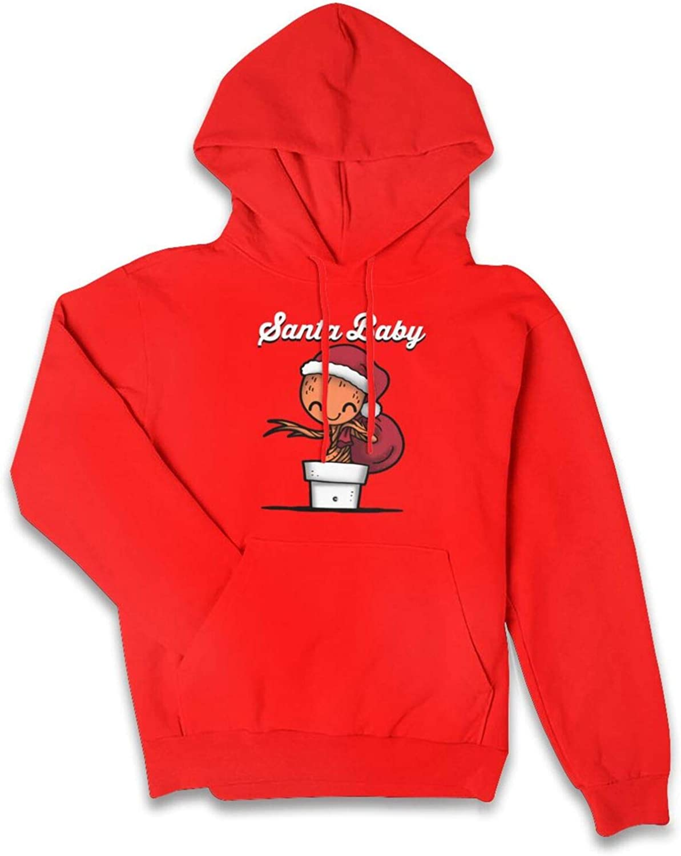 Popular overseas FLYGOGO Christmas Santa Baby Pullover Wome Sweatshirt Hoodie Mesa Mall for