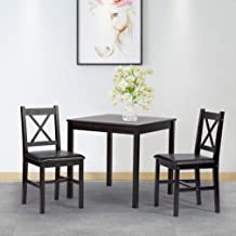 Best 2 person dining table and chairs Reviews