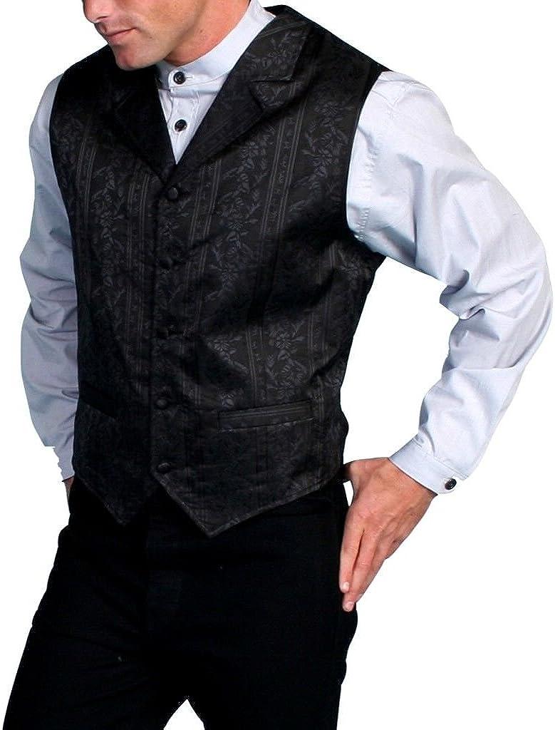 Scully Rangewear Super popular Manufacturer direct delivery specialty store Men's Eaton Stripe Vest - Rw112 Blk