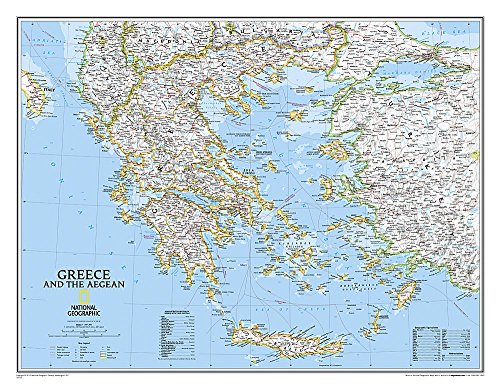 Download Greece Classic (National Geographic Reference Map) 0792236092