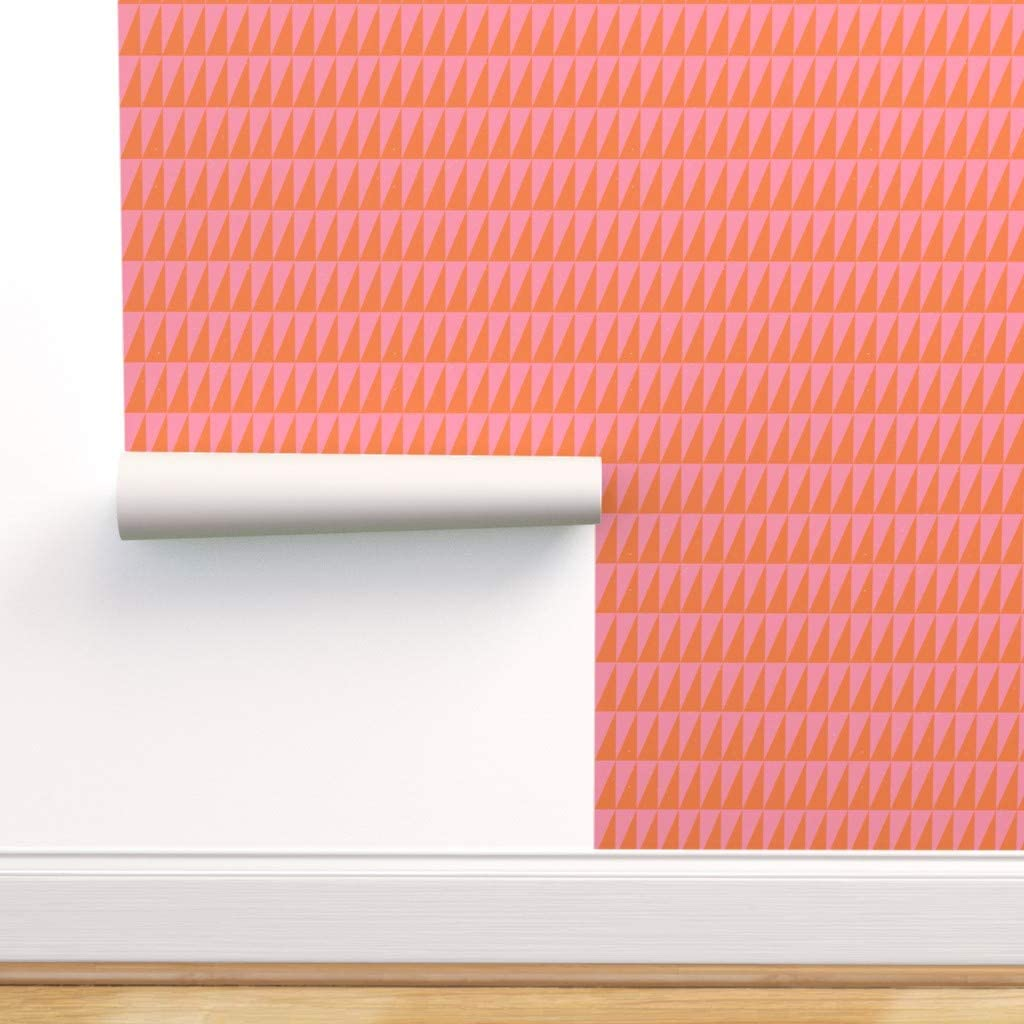 Removable Water-Activated Wallpaper - Geometric Dual メーカー直送 期間限定送料無料 Mo Triangle