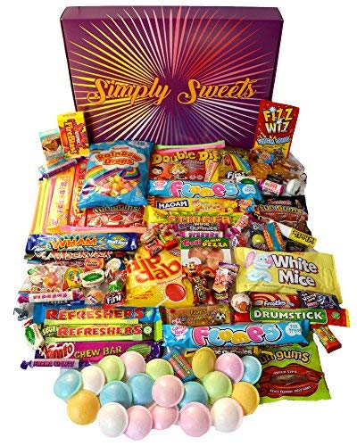 Simply Sweets Super Retro Sweet Hamper Gift Box. Packed...