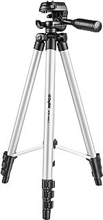 DIGITEK DTR 455 LT Tripod for DV Cameras and Smartphone | Max Operating Height - 4.26 Feet | Load Capacity-3 Kg | Lightwei...